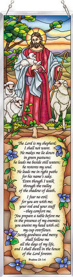 Amia 42644 The 23rd Psalm Panel