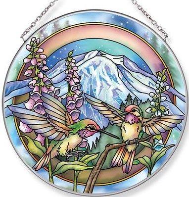 Amia 42695 Each Day Magnificent Journey Large Circle Suncatcher