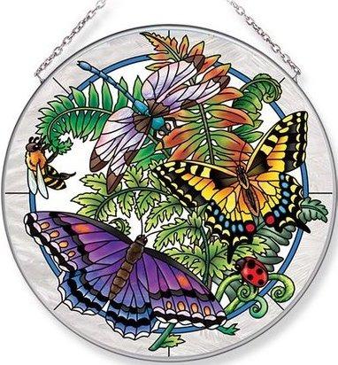 Amia 42696 Botanical Large Circle Suncatcher