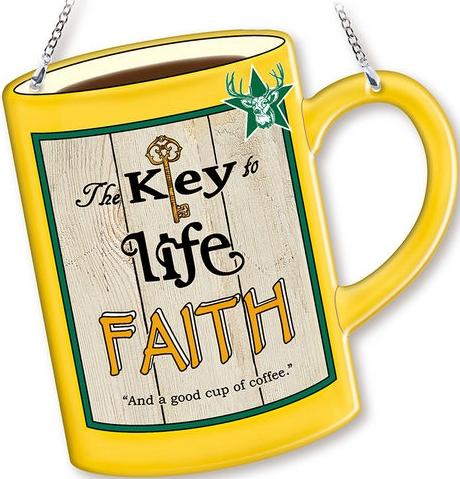 Amia 42758 Faith Mug Suncatcher
