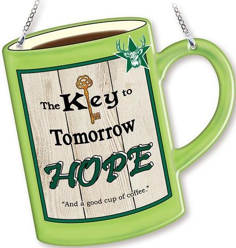 Amia 42760 Hope Mug Suncatcher