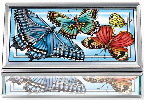 Amia 42783 Blue Skies Jewelry Box