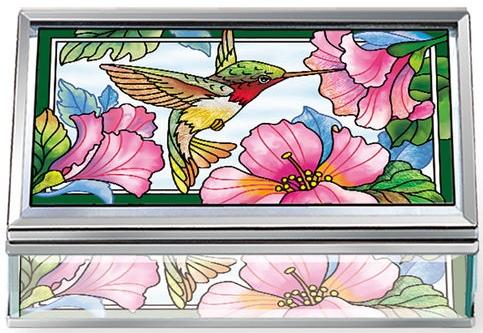Amia 42796N Pretty in Pink Jewelry Box