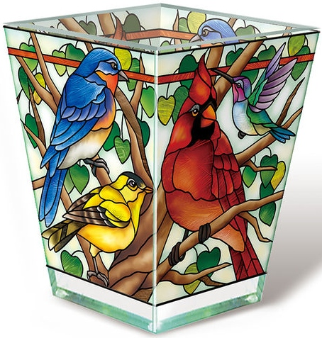 Amia 42805 Wild Birds Co op Petite Votive