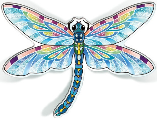 Amia 42826 Blue Dragonfly Magnet