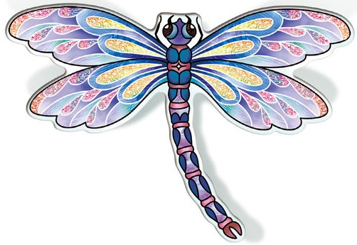 Amia 42827 Purple Dragonfly Magnet