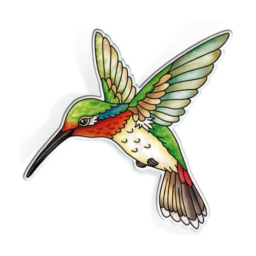 Amia 42828N Ruby Throated Hummingbird Magnet