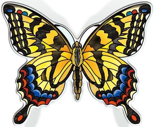 Amia 42829 Tiger Swallowtail Magnet
