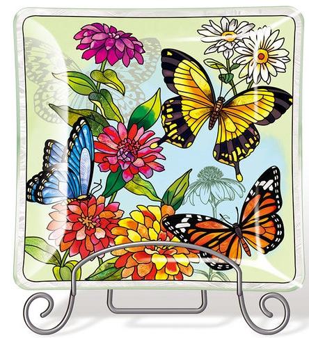 Amia 42853 Butterfly Garden Tray
