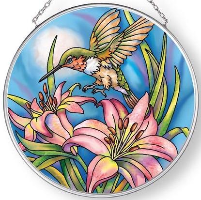 Amia 42897 Come Fly With Me Medium Circle Suncatcher