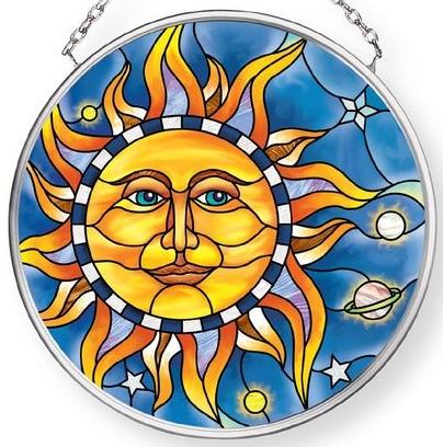 Amia 42908 Celestial Small Circle Suncatcher