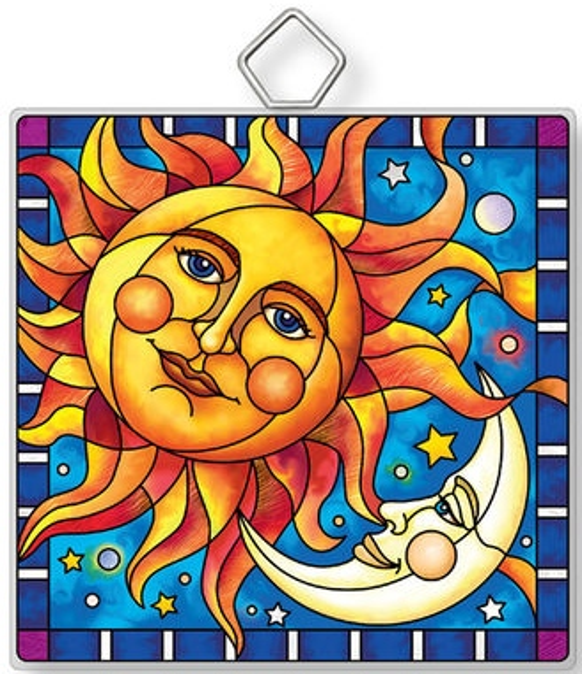 Amia 42921 Celestial #1 Square Suncatcher