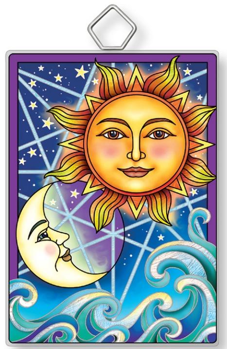 Amia 42922 Celestial #2 Rectangle Suncatcher