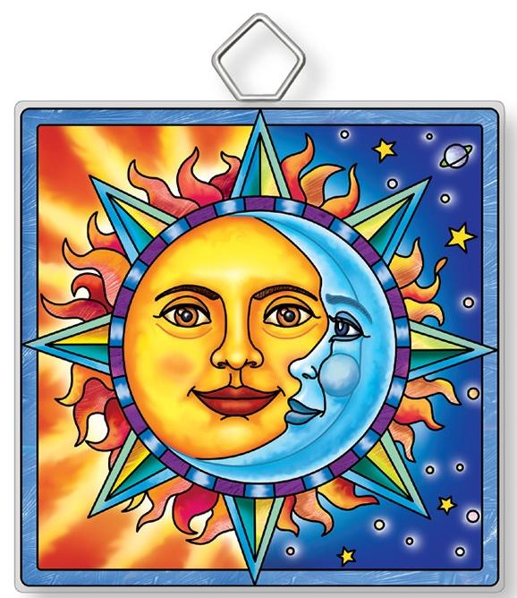 Amia 42923 Celestial #3 Square Suncatcher