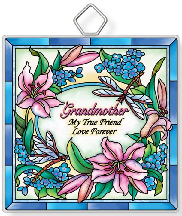 Amia 42943 Grandmother Square Suncatcher