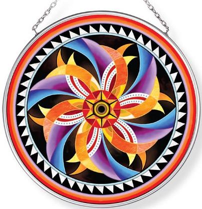 Amia 42959N Fish Eye Medium Circle Suncatcher