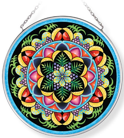 Amia 42963N Carmen Miranda Medium Circle Suncatcher