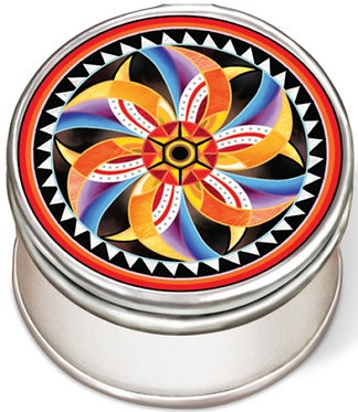 Amia 42965 Fish Eye Petite Circle Jewelry Box