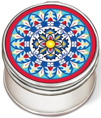 Amia 42967N Calamari Friti Petite Circle Jewelry Box