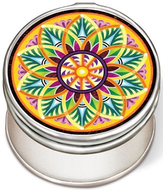 Amia 42968N Fiori Del Sol Sunflower Petite Circle Jewelry Box