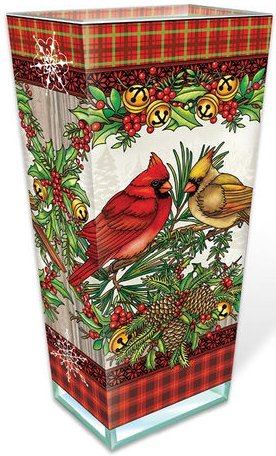 Amia 42985N A Traditional Christmas Large Vase