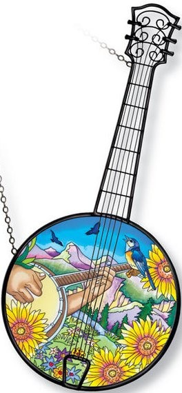 Amia 5205 Bluegrass Instrument Suncatcher
