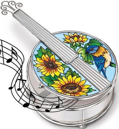 Amia 5212 Bluegrass Banjo Jewelry Box