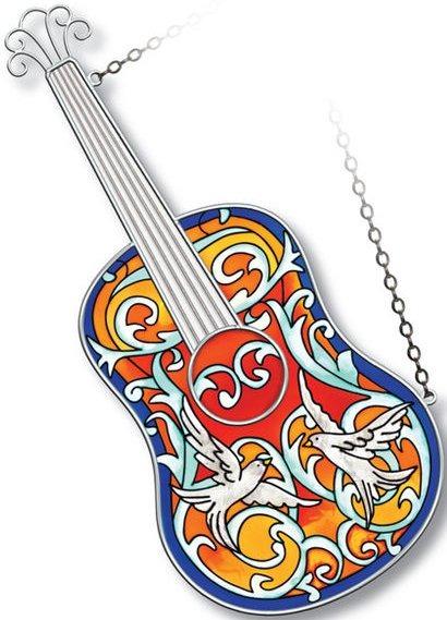 Amia 5215 Spanish Guitar Instrument Suncatcher
