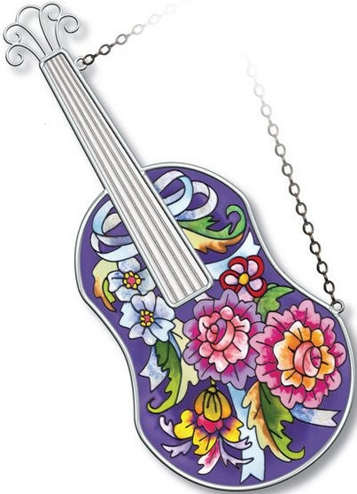 Amia 5216 Folk Violin Instrument Suncatcher