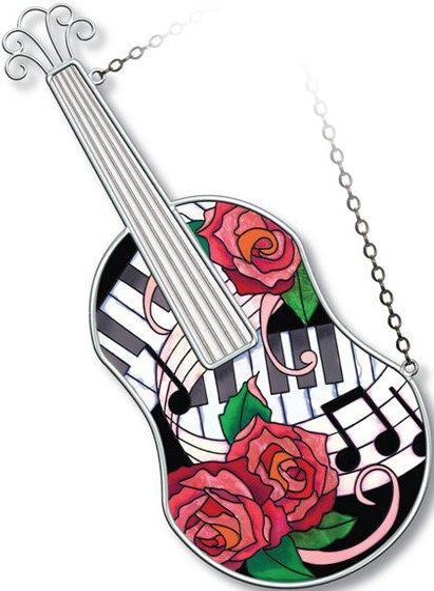 Amia 5217 Classical Violin Instrument Suncatcher