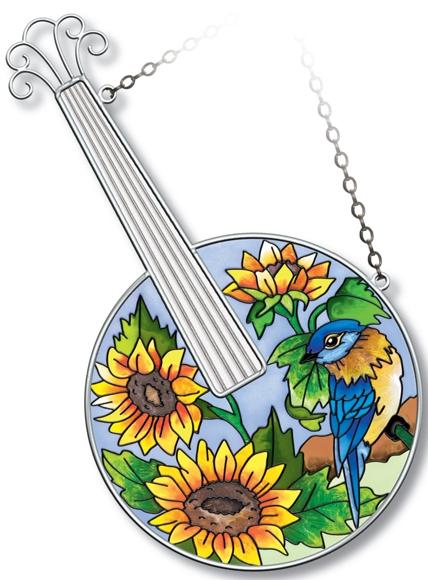 Amia 5218 Bluegrass Instrument Suncatcher