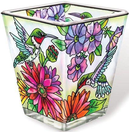 Amia 5241 Hummingbird Garden N Bloom Petite Votive Holder