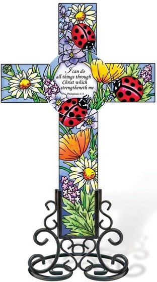 Amia 5251 Ladies in Red Inspirational Cross