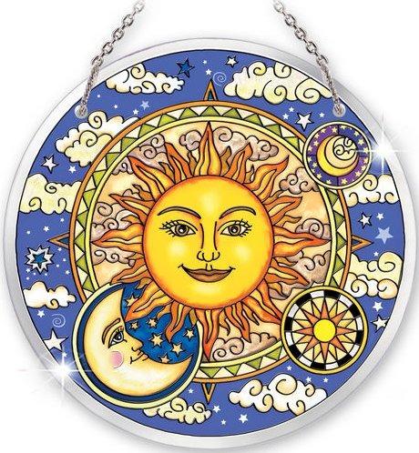 Amia 5276 Celestial Harmony Large Circle Suncatcher