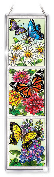 Amia 5286 Butterfly Garden N Bloom Beveled Panel