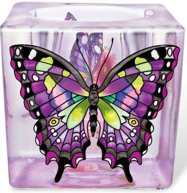 Amia 5300 Purple Swallowtail Small Votive Holder