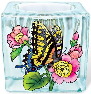 Amia 5302 Swallowtail Small Votive Holder