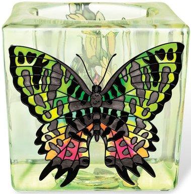 Amia 5304 Madagascan Sunset Moth Small Votive Holder