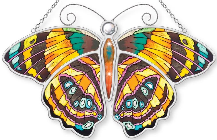 Amia 5306 Callicore Mionina Butterfly Suncatcher