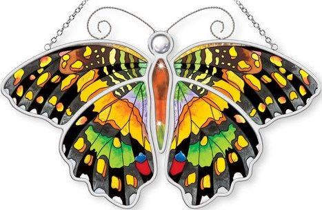 Amia 5307 Lime Butterfly Butterfly Suncatcher