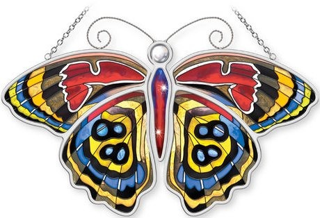 Amia 5309 Cramer's Eight Eight Butterfly Suncatcher