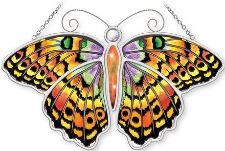 Amia 5312 Meadow Fritillary Butterfly Suncatcher