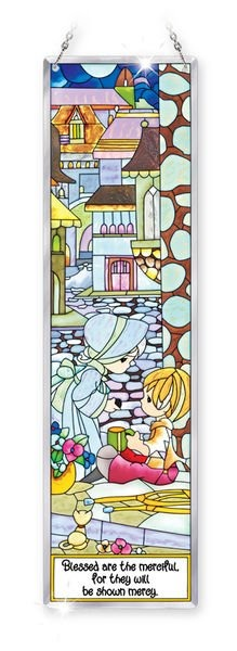 Amia 5412 Blessed Are The Merciful Beveled Panel