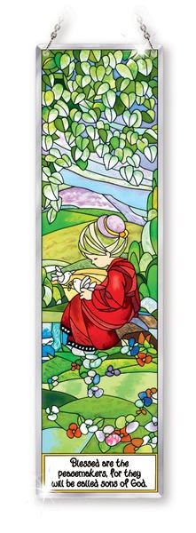 Amia 5414 Blesse Are The Peacemakers Beveled Panel