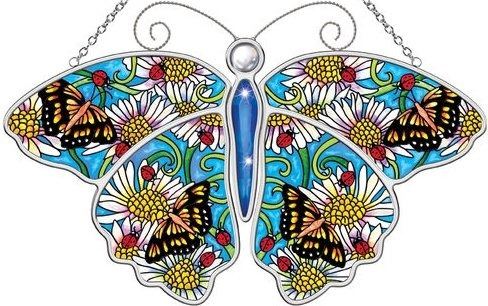 Amia 5593 Debby P Butterfly Suncatcher