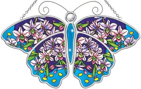 Amia 5594 Molly H. Butterfly Suncatcher
