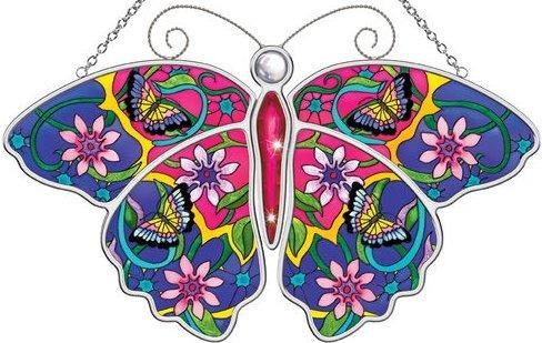 Amia 5598 Robin C. Butterfly Suncatcher