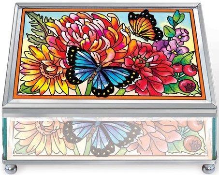 Amia 5647 Indian Summer Small Jewelry Box