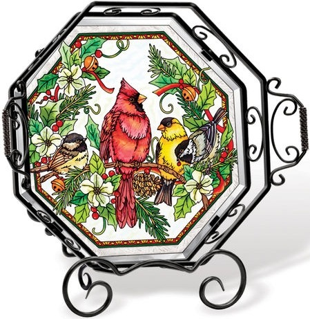 Amia 5707 Birds of Cheer Tray