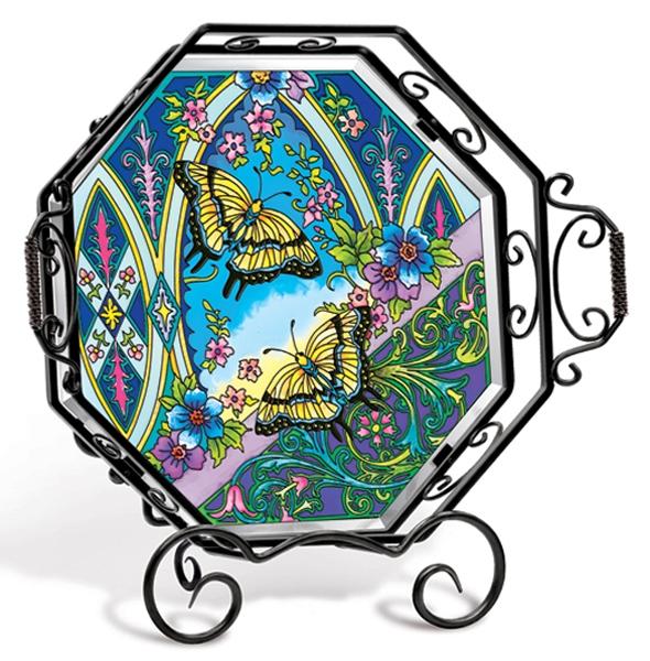 Amia 5714 Butterflies Tray